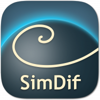 SimDif website builder for iOS and Android
